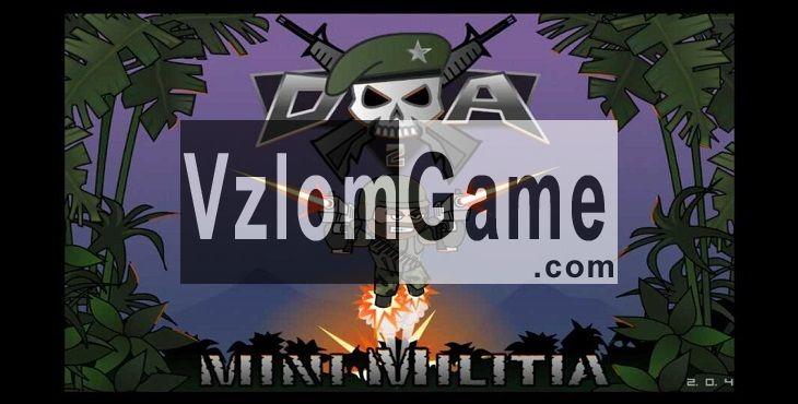 Doodle Army 2: Mini Militia Взломанная на Жизни, Нитро и Боеприпасы