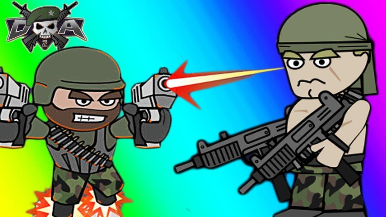 Doodle Army 2: Mini Militia чит коды