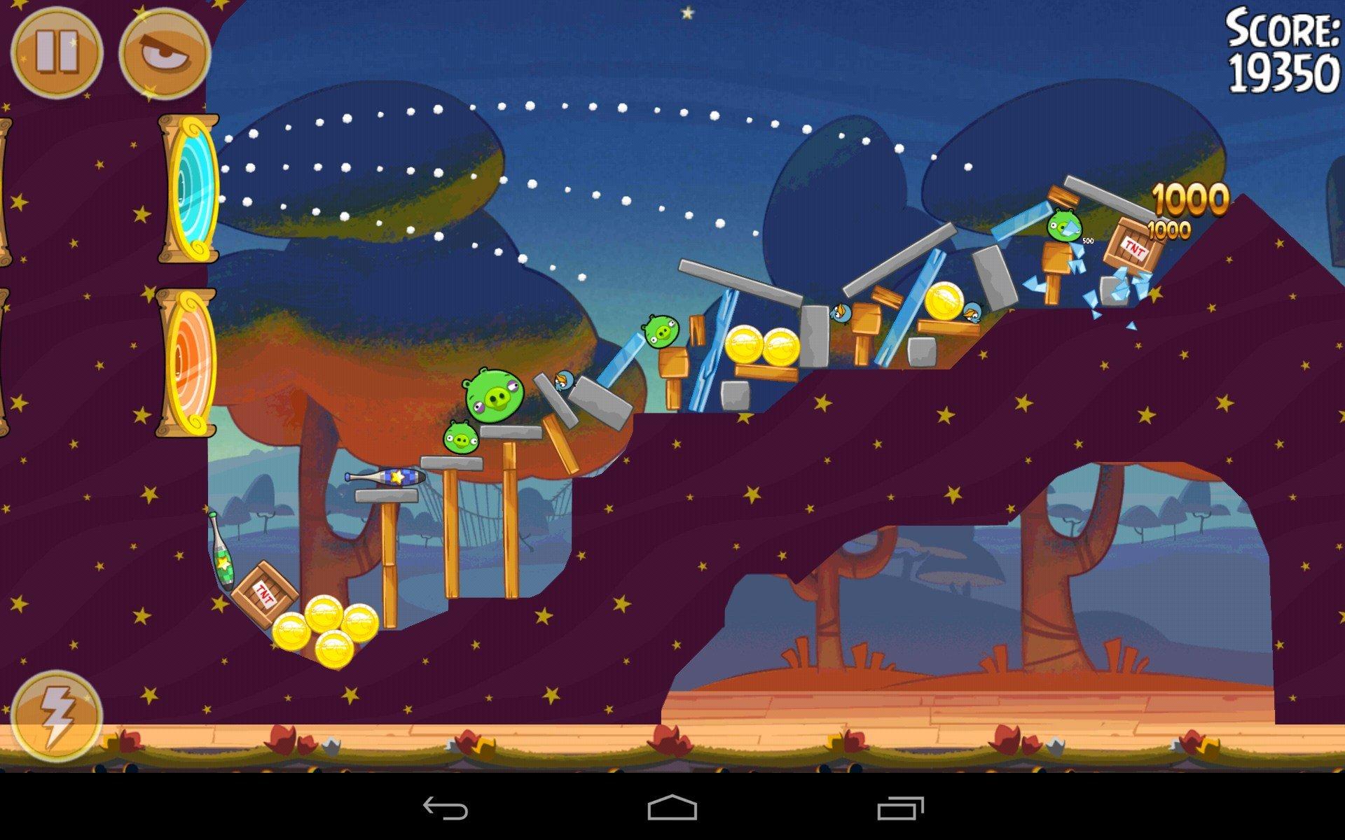 Angry Birds Seasons чит коды