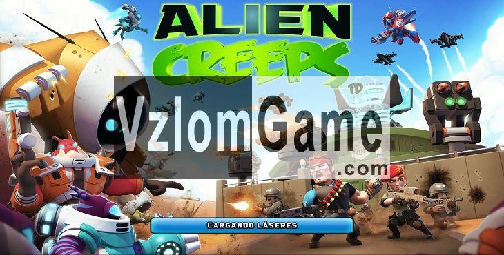 Alien Creeps TD Взломанная на Алмазы и Деньги