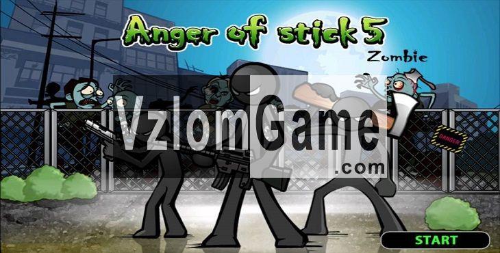 Anger of Stick 5 Взломанная на Деньги, Режим Бога и Алмазы