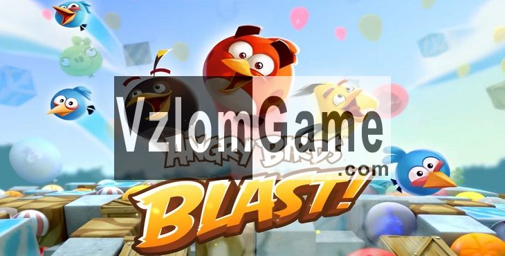 Angry Birds Blast Взломанная на Золото и Серебро