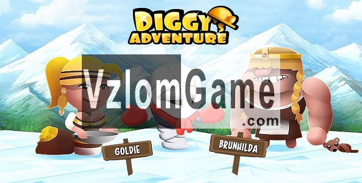 Diggy's Adventure Взломанная на Кристаллы, Золото и Энергия