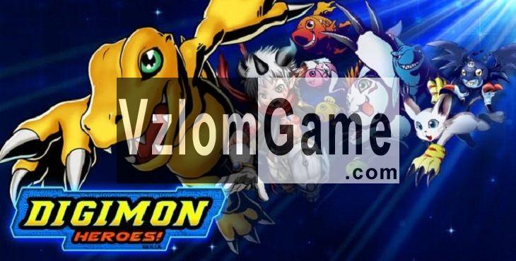 Digimon Heroes Взломанная на Деньги/FP