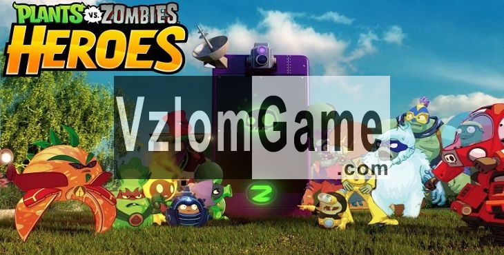 Plants vs. Zombies Heroes Взломанная на Кристаллы