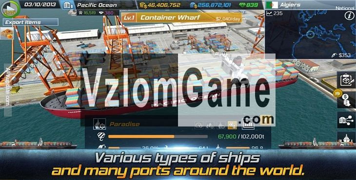 Ship Tycoon Взломанная на Деньги