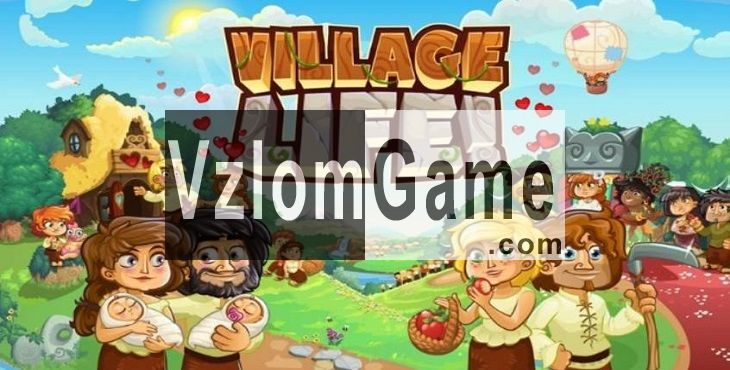 Village Life Взломанная на Кристаллы