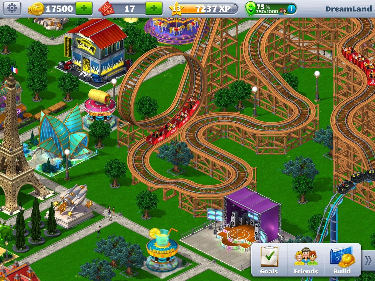 Roller Coaster Tycoon 4 Mobile чит коды
