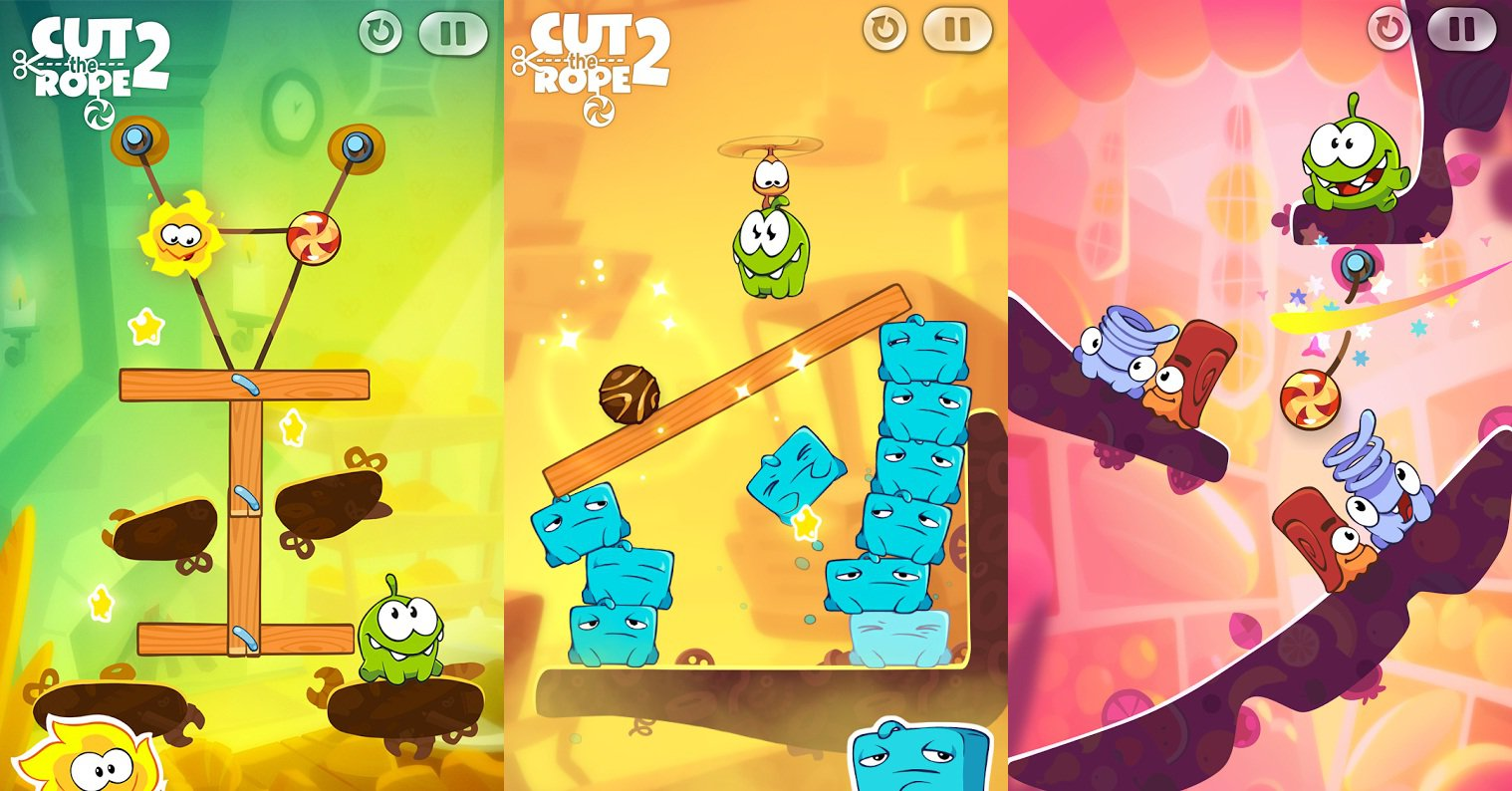 Cut The Rope 2 чит коды