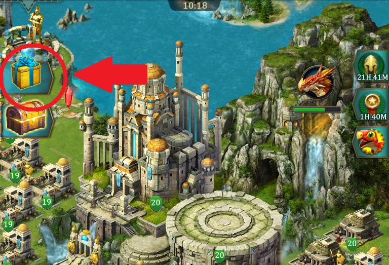 Dragons of Atlantis чит коды