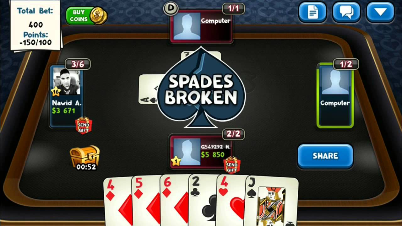 Spades Plus чит коды