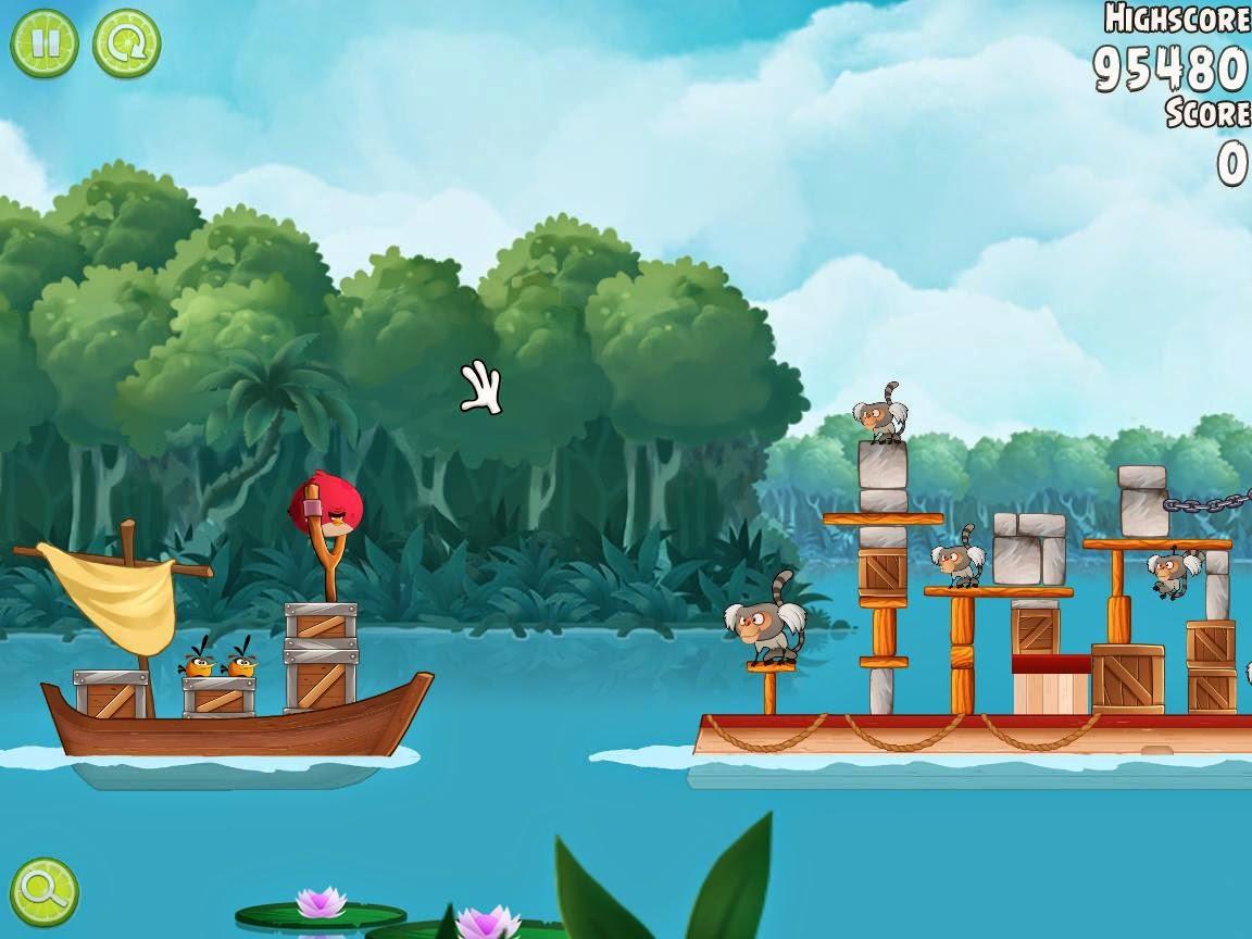 Angry Birds Rio чит коды
